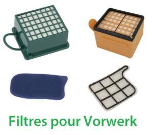 Filtres pour aspirateur Vorwerk